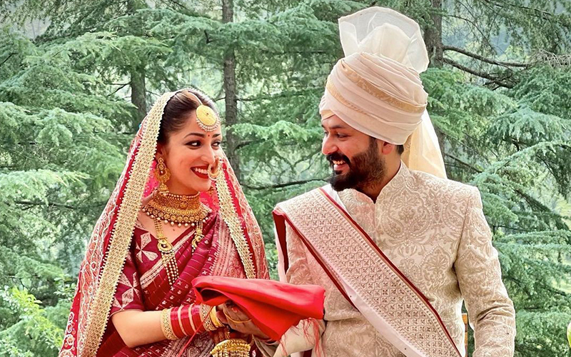 The Big Picture: Actor Yami Gautam and director Aditya Dhar tie the knot